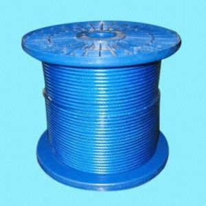 PVC&Nylon Coated Steel Wire Rope 7*7-1.25/2mm