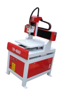 Mini CNC Stone Router Machine for Glass Decoration (YH-4060)