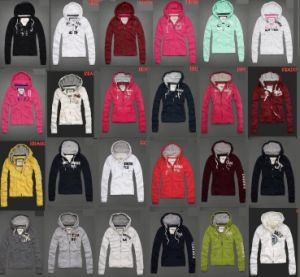 Women Hoody Jacket/Winter Clothes Various Colors pictures & photos