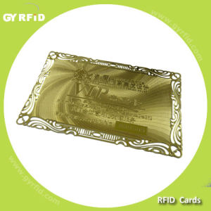 Elegant Metal Card for Valued Customers Loyalty System pictures & photos