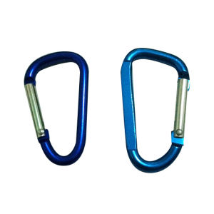 Wholesale High Quality Bag Aluminum Carabiner Hook pictures & photos
