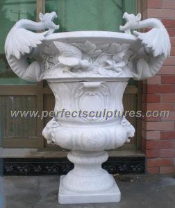 Stone Marble Garden Flower Pot (QFP269) pictures & photos