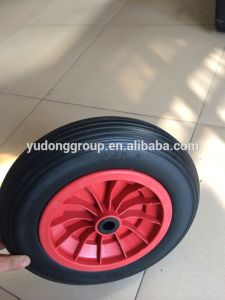 PU Wheel 3.50-8, Flat Free Tyre 3.50-8 pictures & photos