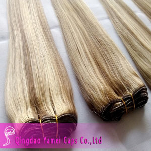 Piano Color 100 Virgin Brazilian Human Hair Weft (YM-KHW026)