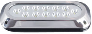 Yacht Light 36W 1500lm 12LEDs Be Am Angle 30 Degree St 316 IP68