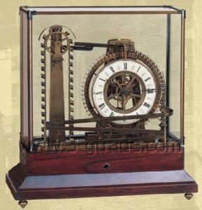 Mystery Water Wheel Ball Bearing Industrial Clock (JG3056-2)