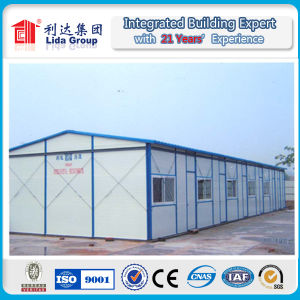 Single Storey Sandwich Panel Prefabricated Labor Camp pictures & photos