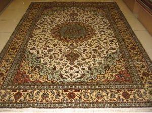 Silk Carpet-6*9 SquareFeet 400Lines (YISI1354)