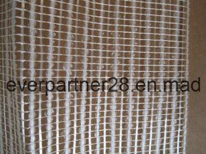 Stone Back Texturized Fiberglass Mesh, Fiberglass Granite Mounting Mesh pictures & photos