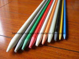 Pultruded Colourful Solid High Strength Fiberglass Rod pictures & photos