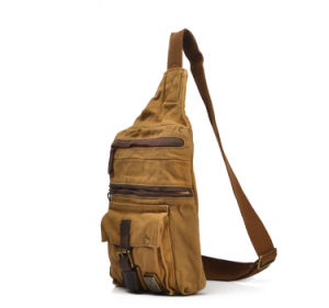 Redswan Washed Canvas Cheapest Unisex Sling Backpack Chest (RS-2153) pictures & photos