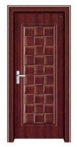 Exterior Steel Wooden Door (EWS020)