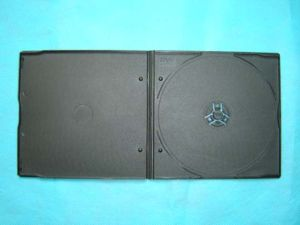 DVD Case DVD Box DVD Cover 5mm Short Single Black (YP-D814H)