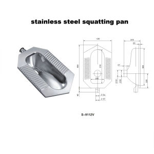 Stainless Steel Toilet (wc) (9112V) pictures & photos