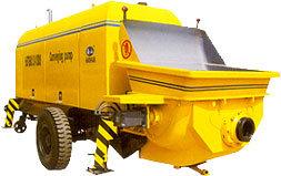 Trailer Concrete Pump (HBTS80-13-110)