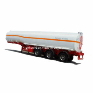 3 Axles 45cbm Chemical or Water Liquid Tank Trailer pictures & photos
