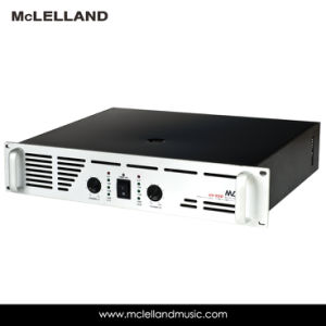 Power Amplifier with 2 Channel Bridge 8ohm 550W*2 pictures & photos