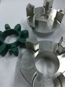 Stainless Steel Flexible Jaw Type Coupling with Poly Urethane Elastomer