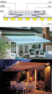 Balcony and Patio Awning pictures & photos