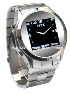 Quad Band Watch Cell Phone with Metal Watchstrap (CXD-MQ006)