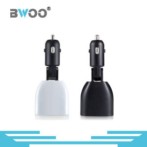 Car Charger 2 USB High Tech Display for Mobile Phone pictures & photos
