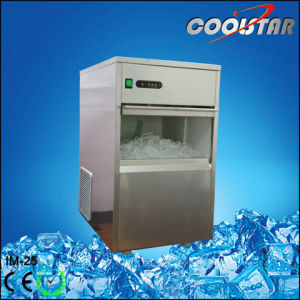 25kg Commercial Portable Bullet Type Ice Maker (IM-25) pictures & photos