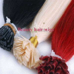 Wholesale Remy Brazilian Hair Keratine Nail Tip Hair, I Tip, Stick Hair pictures & photos