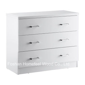Premium Quality Bedroom 3 Drawer Storage Chest Cabinet (HC31) pictures & photos