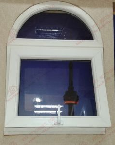 China Supplier of UPVC/PVC Arch Awning Window (BHP-WA08) pictures & photos