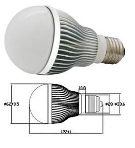 E27 LED Lamp Lighting 3*1W (HBC005WFRE27)