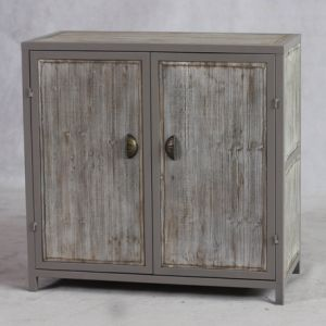 2 Doors Wooden Cabinet in Natural Timber Finish pictures & photos