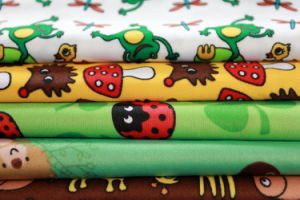 Waterproof Pul Printed Fabric for Baby Cloth Fabric pictures & photos