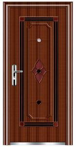 Steel Security Door (FX-A0112) pictures & photos