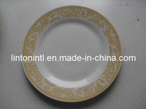 "10.5""Porcelain Dinner Plate - 5"