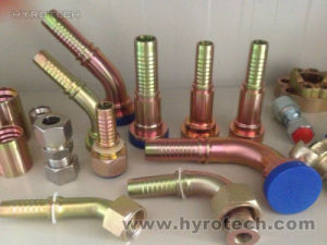 "Jic Hydraulic Fitting (3/16"" to 2"") pictures & photos"
