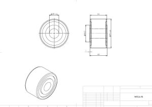 Hpca76, Heavy Duty Stud, Idler-Rollers, Load Runners, Osborn Design Bearing, Cam Runner