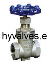 Cast Stainless Steel Full Threaded Gate Valve