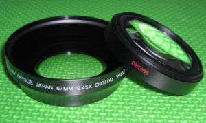 67mm 0.45x Wide Conversion Lens (Includes Lens Cap and Case)