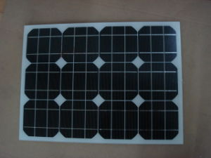 Monocrystalline Solar Panel 30W (CNSDPV-30S) pictures & photos