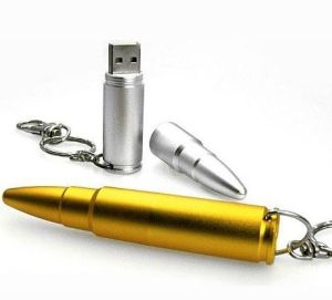 Metal Bullet USB Flash Drive 2.0 (TF-0124) pictures & photos