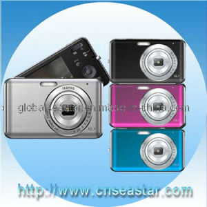 Well 2.7 Inches 12.0MP Digital Camera, Camcorder, 8x Zoom, AV out , Voice Recorder, Camera MP3 MP4 Play (S-DC70)