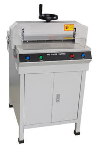 Electric Precise Paper Cutting Machine (YD-450D) pictures & photos