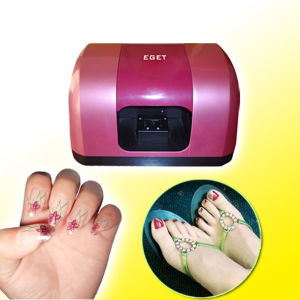 Eget Nail Printer Sp-N06b3 (5 hand nails&5 toe nails) , with FCC, CE