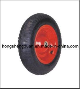 350-8PU Wheel Rubber Wheel, Wheel Rim, PU Wheel