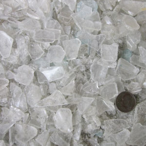 White Crystal Crushed Glass Grit pictures & photos