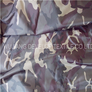 300t Polyester Taffeta with Camouflage Print for Garment Fabric (DT2037)