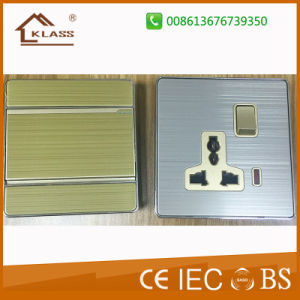Wenzhou Factory UK and Us Design Wall Socket and Switch pictures & photos
