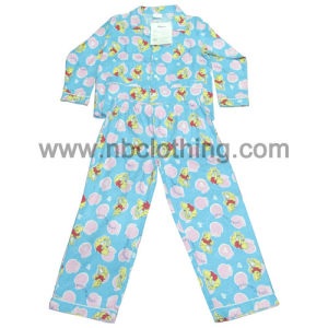 Children 100% Cotton Printed Flannel Pyjamas