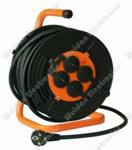 Professional Power Reel with Schuko France Plug Socket pictures & photos
