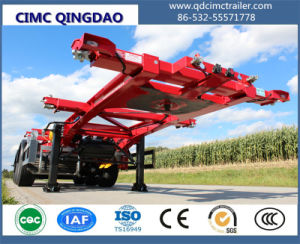 Cimc New Price 3 Axles Containers 40feet Skeleton Truck Trailer Chassis pictures & photos